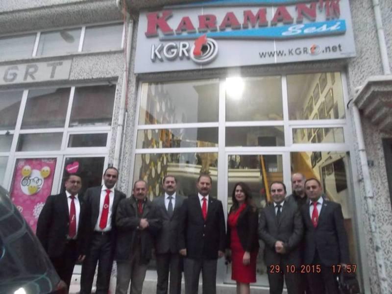 GENEL BAŞKANIMIZ VELİ DEMİR KARAMAN'DA